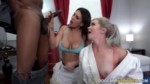 Kay Carter And Her Stepmom Try Anal With