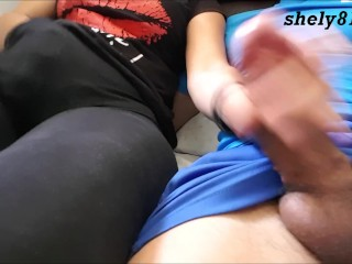 stepson cums and squirts step motherwithout