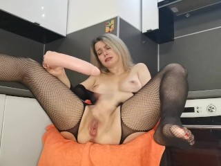 Stepmom JOI dirty talking you with a Blowjob and