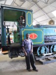 Bernard, the Railway Museum guide
