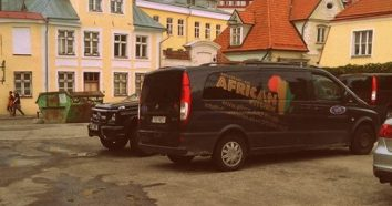 Down the road from the Estonian Cinema House on Uus Street, there is a spot called African Kitchen. (Photo: A. Kozlov)