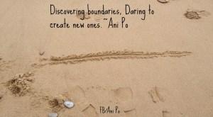 creating new boundaries