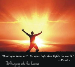 rumi lighting the world