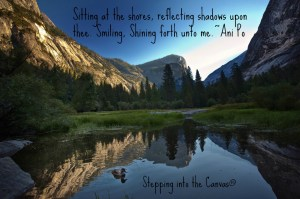 Shining forth unto me