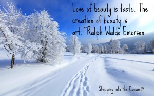 Creation of beauty is art