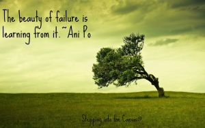 The beauty of failure