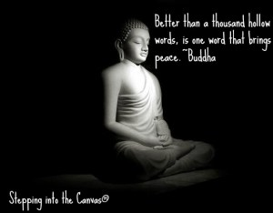 one word that brings peace
