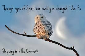 through eyes of spirit