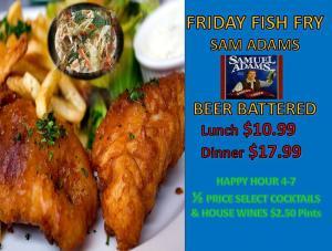 Muddy Waters-Fish-Fry-Fridays