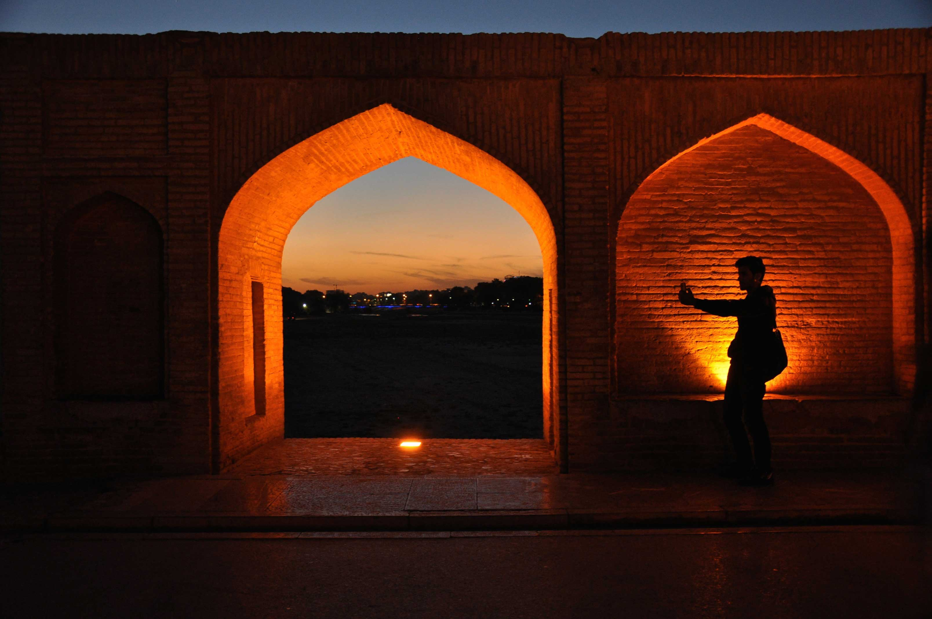 Isfahan… and the bridges over Zayandeh river
