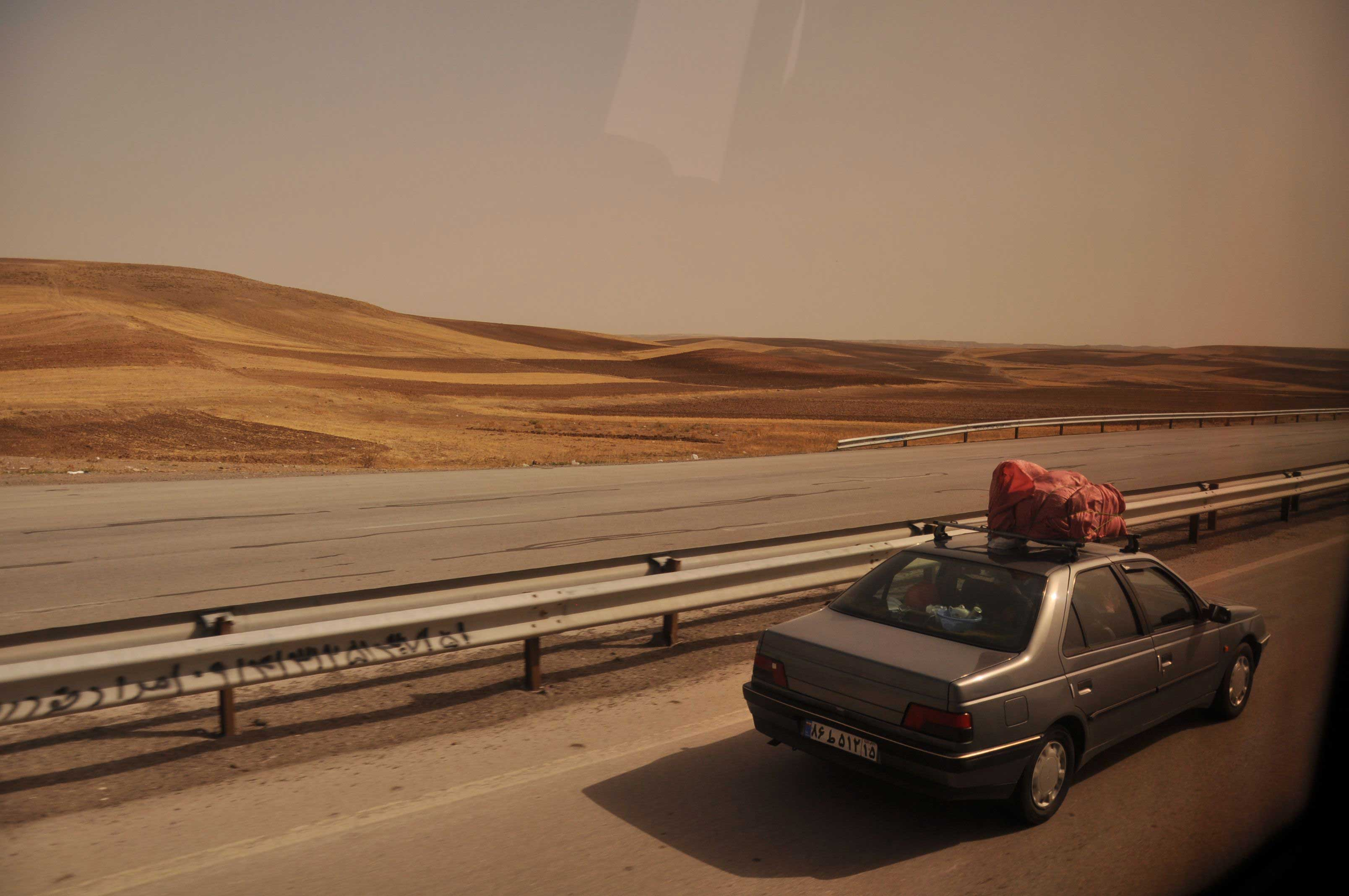 Between Tabriz and Tehran… on the road again!