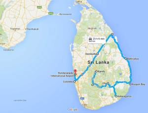 30 days in Sri Lanka: itinerary & costs