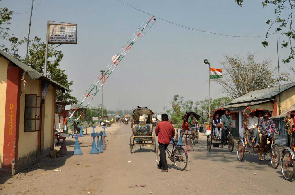 Indian side of the Panitanki Panitanki-Kakarbitta border
