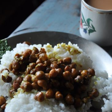 Food in Northeast India… for vegetarians!