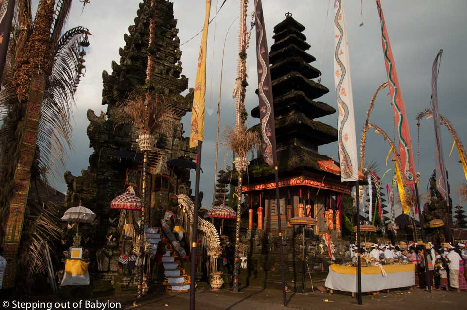 Pura Ulun Danu Batur… a holy place in a holy day
