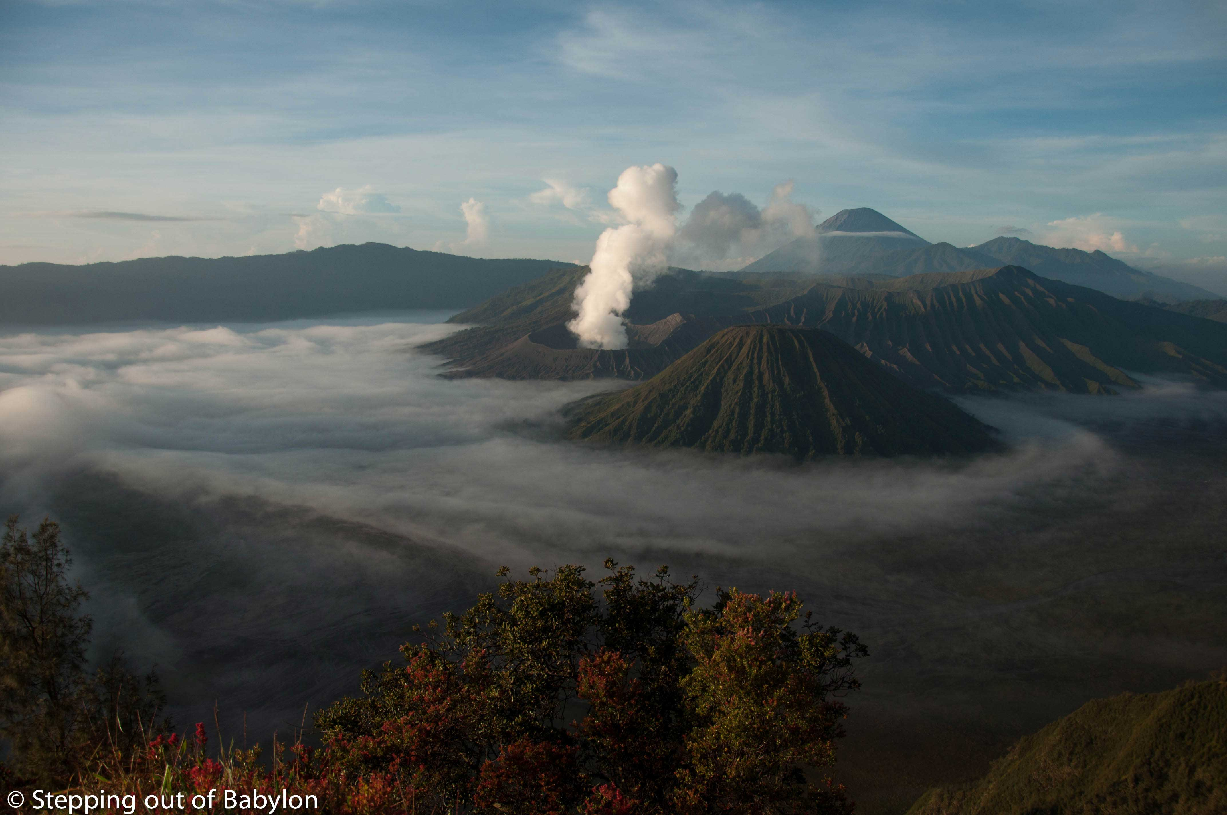 Bromo… the breath of the earth