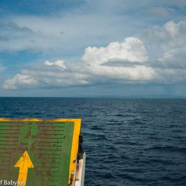 From Bali to Lombok… by public ferry