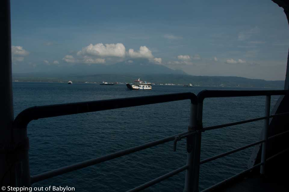How to go from Bali to Java by ferry boat