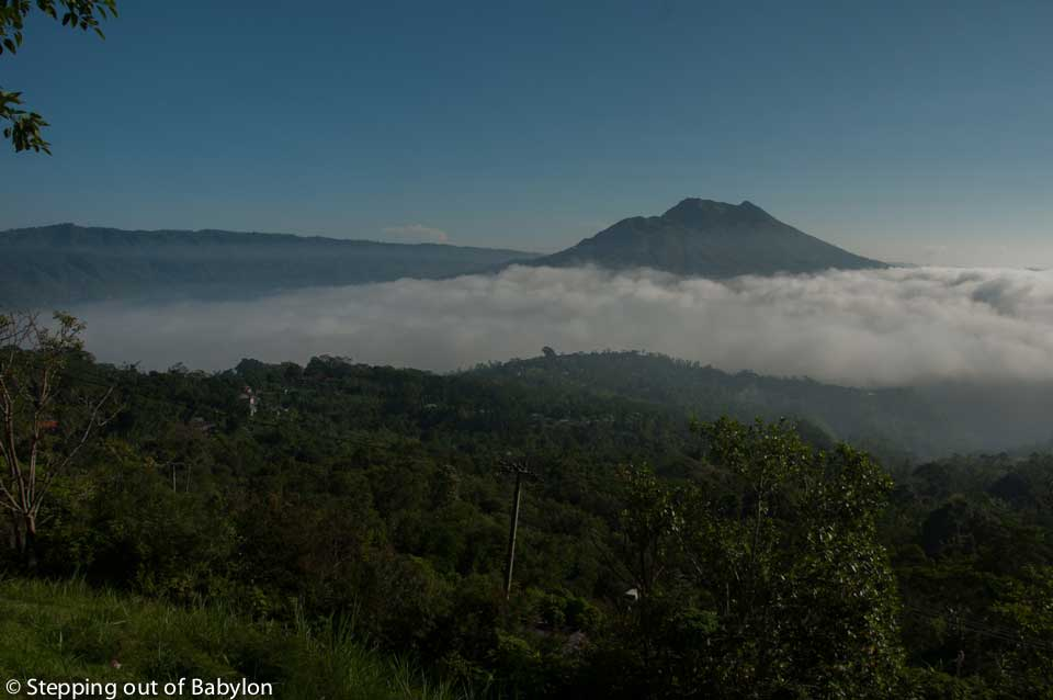 Gurung Batur early Morning. Bali