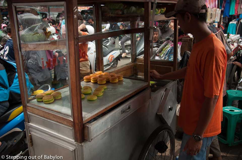 Bogor... street food everywhere