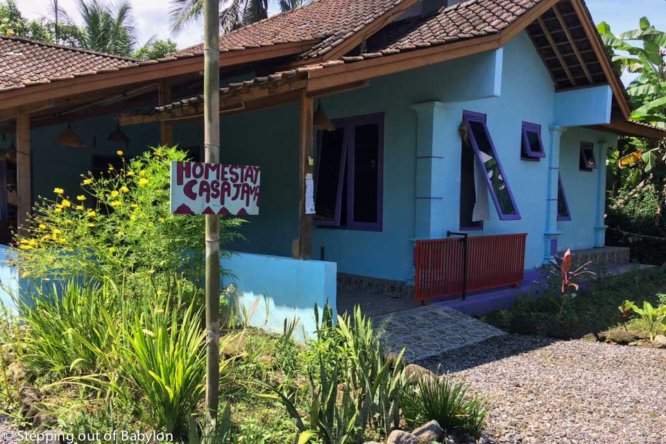 Casa Java Homestay, located in the village of Candirejo, about 3 km from Borobudur
