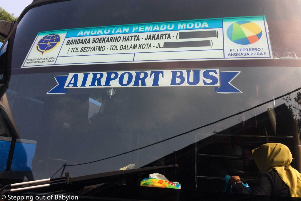 How to go from Bogor to Jakarta Airport.