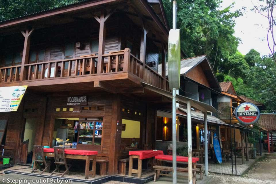 Wooden House. Batu Karas.