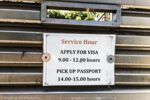 How to apply for Indonesian visa in Bangkok
