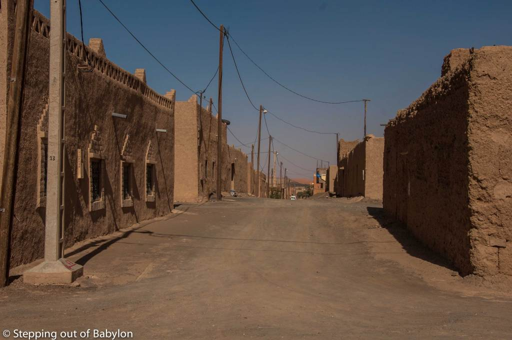 "Merzouga... the almost empty local area of this ""end of the road"" village"