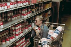 Andy Warhol Goes Shopping