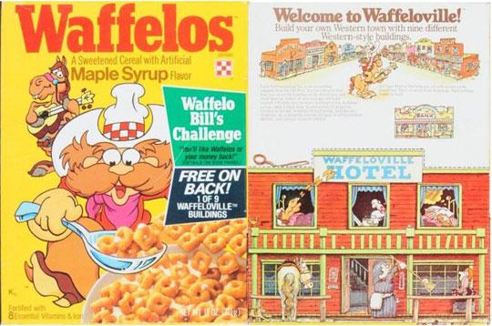 Waffelos Cereal