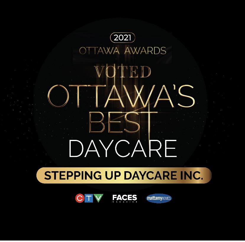 Voted Ottawa's Best Daycare in 2021