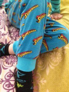 Schlafanzug mit Bündchen verlängert