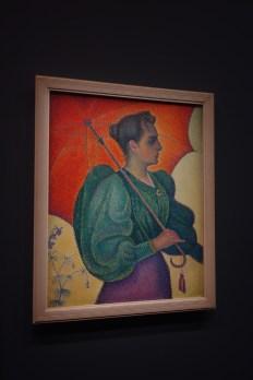 "Paul Signac's ""Woman with a Parasol"""