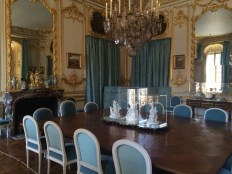 The porcelain dining room