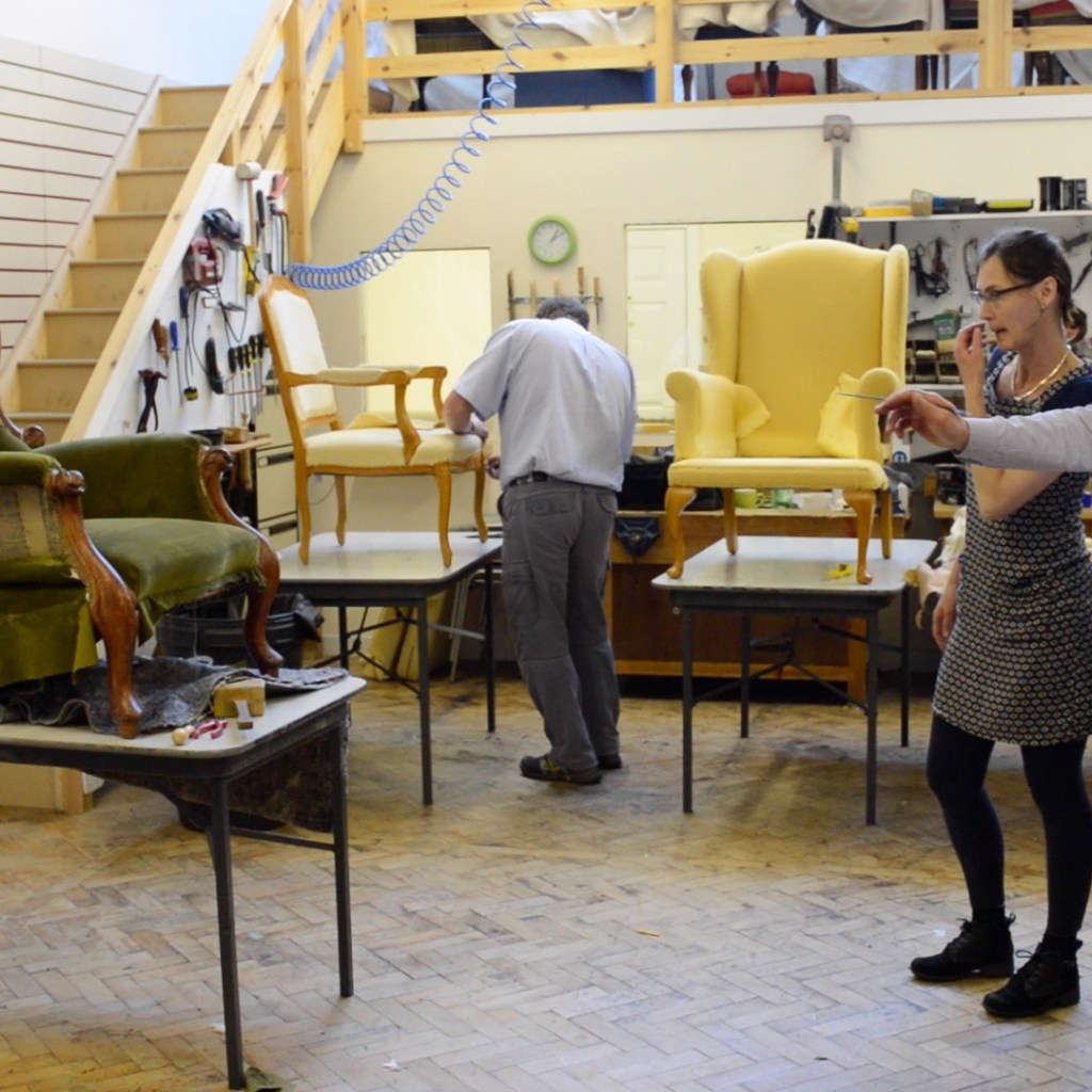 Upholstery Craft Training Centre | STEP Tenant | Business Premises | Studio