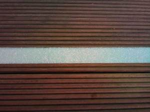 外部ウッドデッキ階段(蓄光グリハード)