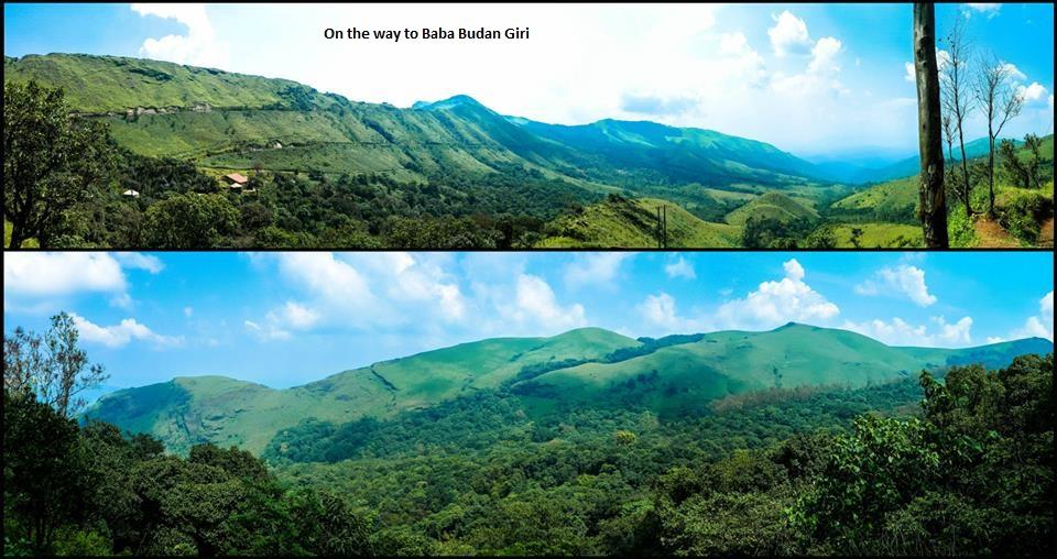 On the Way to Baba Budan Giri