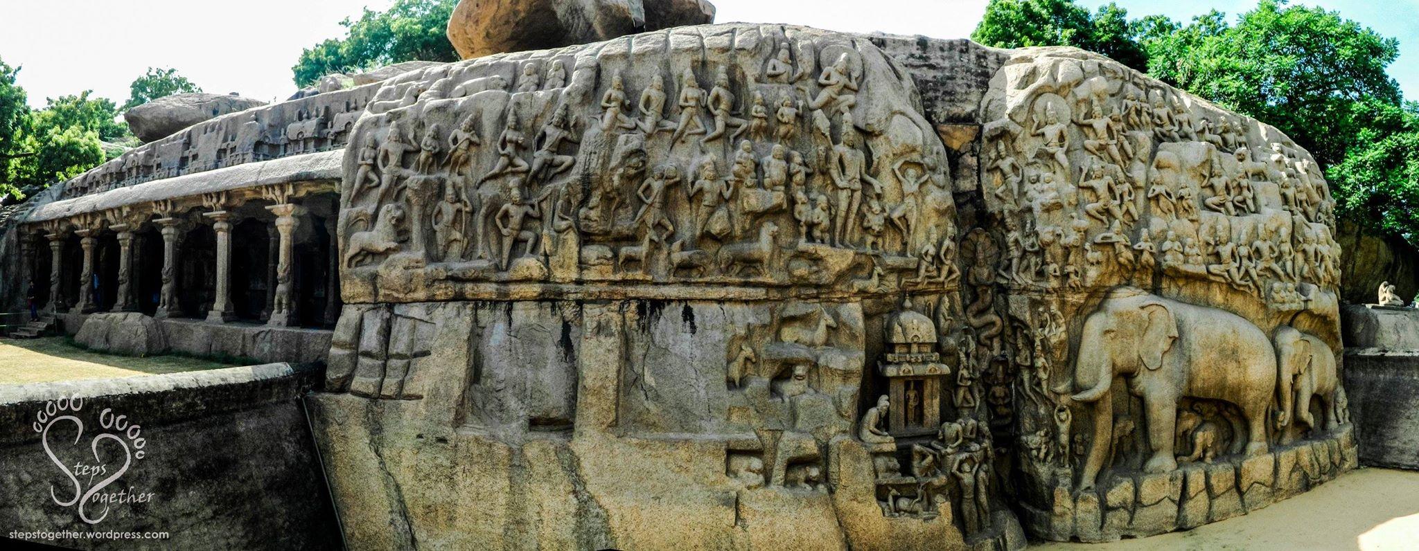 Descent of the Ganges (Arjuna's Penance)