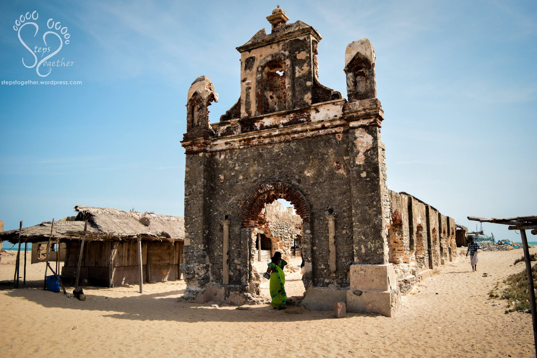 Ruins of Dhanushkodi Church