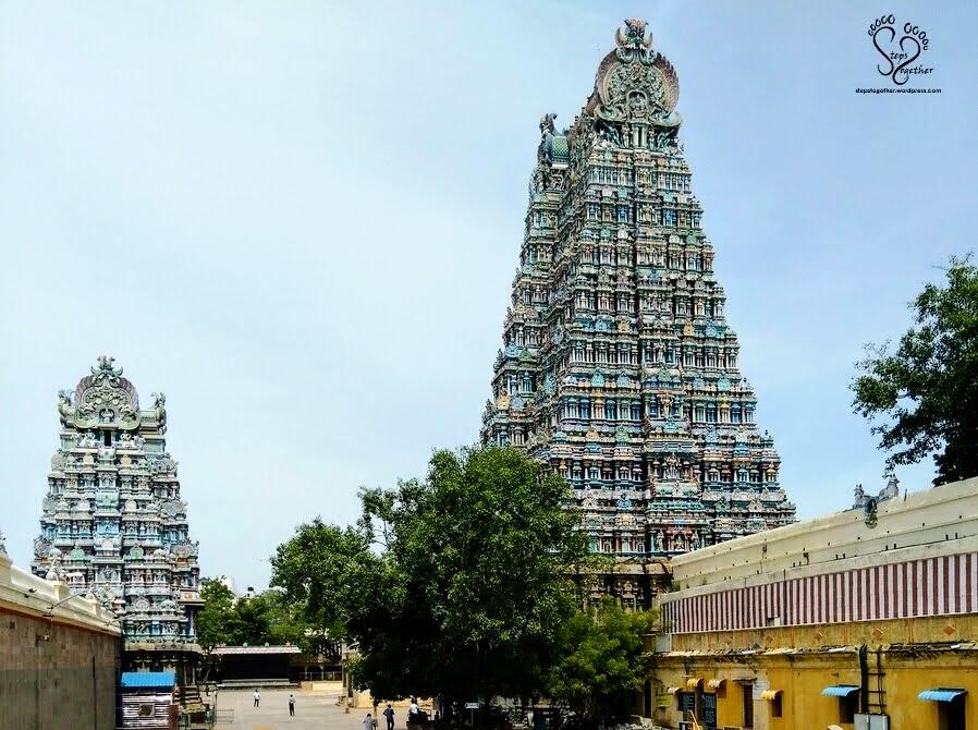 Gopuram of Meenakshi Amman Temple