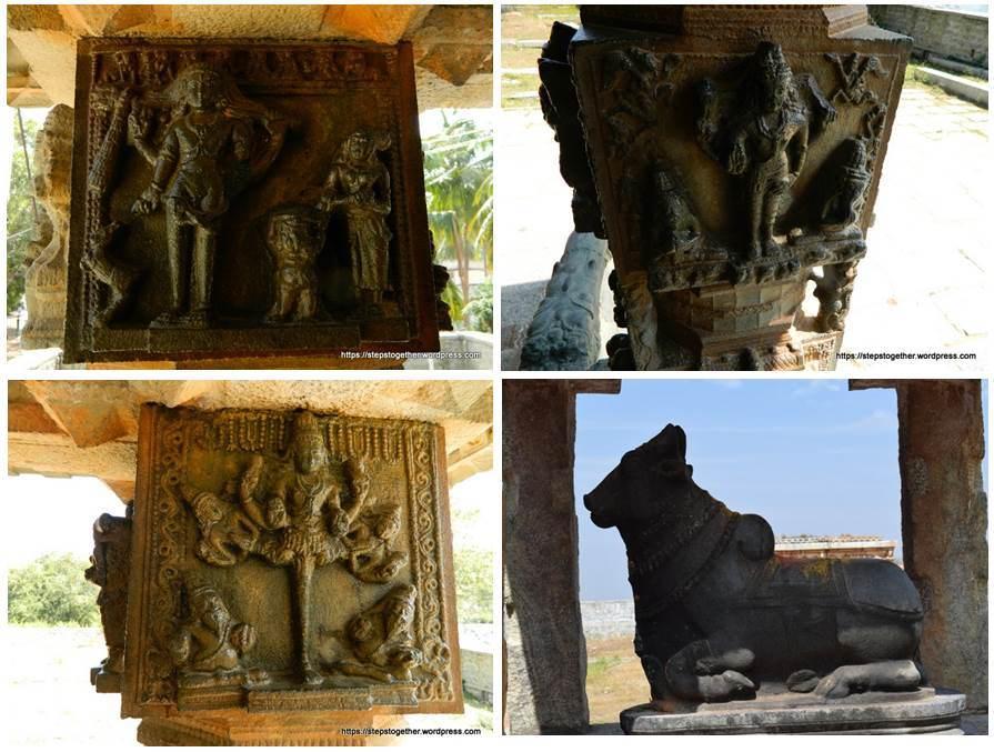 Carvings in Someshwara Temple