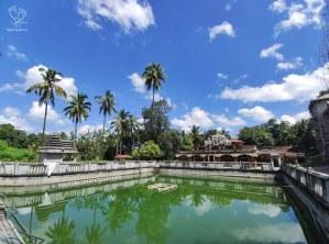 Lake inside Sonda Vadiraja Matha