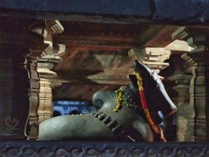 Nandi at Madhukeshwara Temple