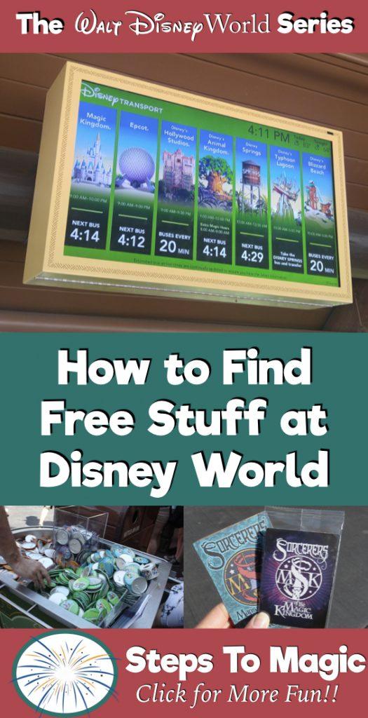 Free Stuff at Disney World