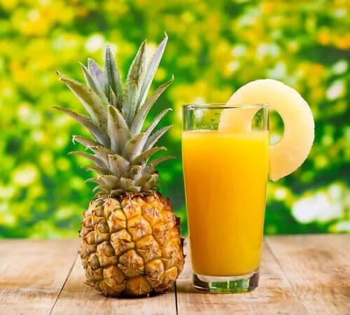 5 suco de abacaxi