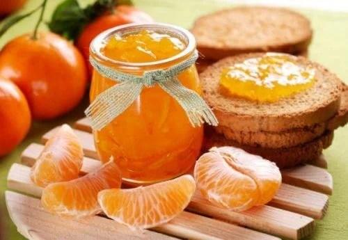 healthy jam recipe with mandarin oranges