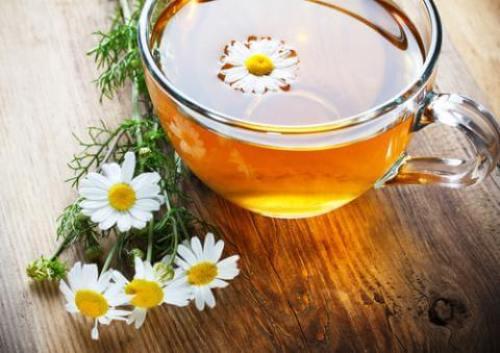 Чай из ромашки успокоит газы
