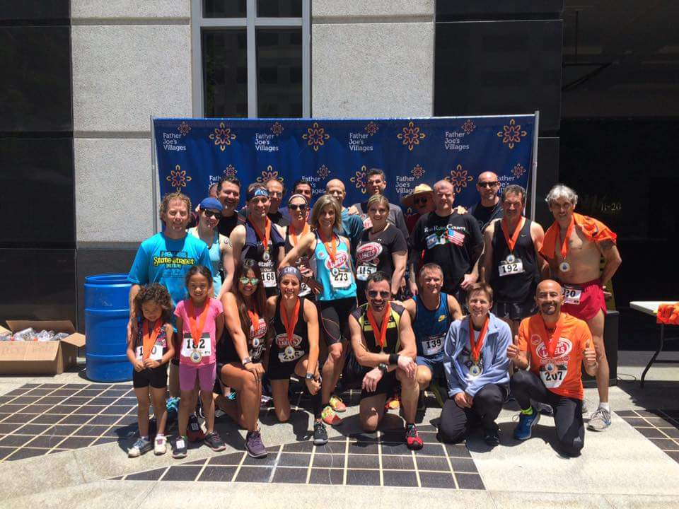 image of group climbers at West Coast Labels San Diego Towerthon 2016
