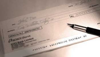 How to write a cheque in India? - StepUpMoney